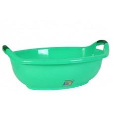 Таз пластм 25л овал зеленый (шт.)
