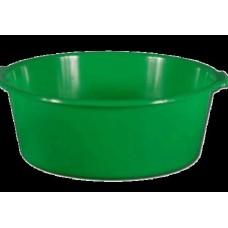 Таз пластм. 12л круглый Люкс зелен. С407 (шт.)