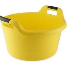 Таз пластм. 16л. овал с/ручк.желт С125 (шт.)