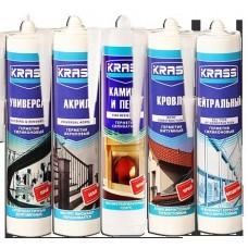 Герметик силик. KRASS д/аквариумов бесцветный 300мл (шт.)
