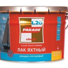 Лак яхтный алкидно-уретановый L 20 PARADE П/мат 2,5л (шт.)
