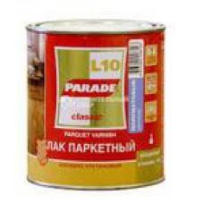 Лак паркетный алкидно-уретан. L10 PARADE п/мат. 0,75л. Л-С (шт.)