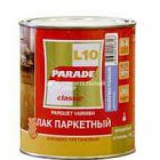 Лак паркетный алкидно-уретан. L10 PARADE п/мат. 2,5л. Л-С (шт.)